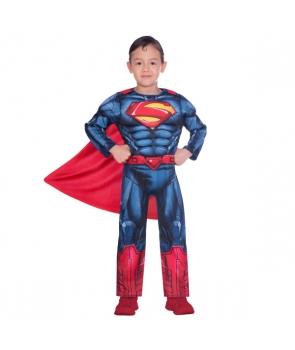 Costum carnaval baieti Superman clasic