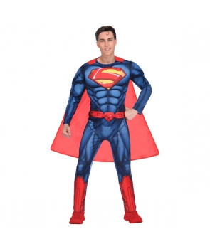 Costum carnaval adulti Superman clasic