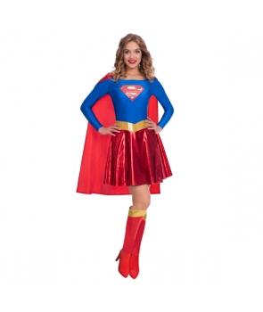 Costum carnaval femei Supergirl nou