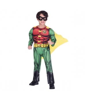 Costum carnaval baieti Teen Titan Robin