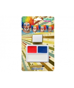 Machiaj petrecere 3 culori