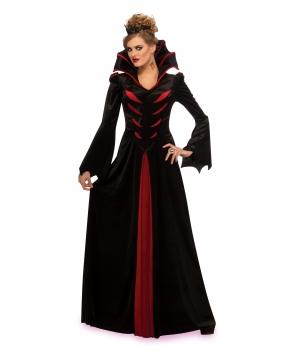 Costum femei vampirita Transilvania Halloween