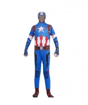 Costum carnaval barbati Capitan America cu licenta