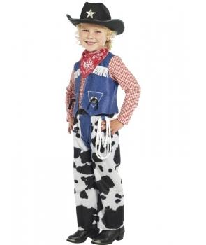 Costum carnaval baieti cowboy
