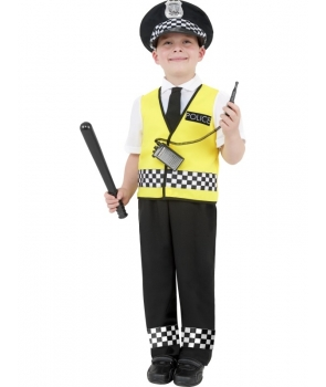 Costum carnaval baieti politist