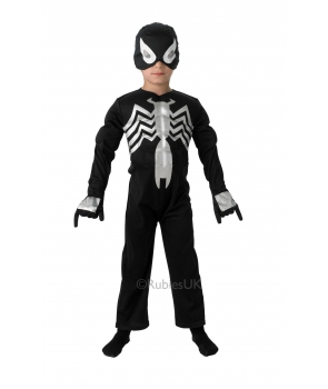 Costum carnaval copii Spiderman negru