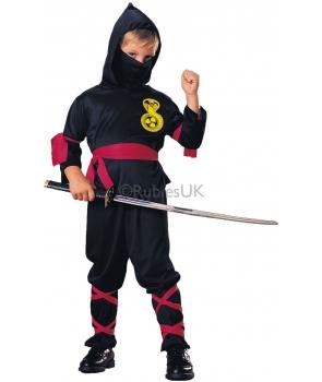 Costum carnaval baieti Ninja