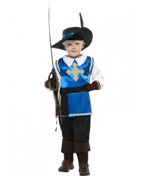 Costum carnaval baieti Muschetar
