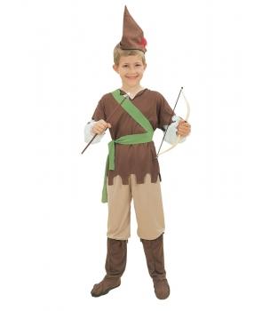 Costum carnaval baieti padurar - Robin Hood