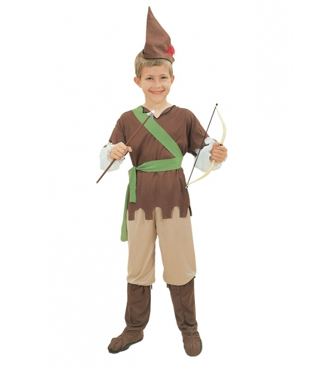 Costum carnaval copii padurar / Robin Hood