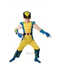 Costum carnaval baieti Wolverine cu licenta