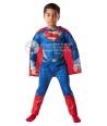 Costum carnaval copii Superman De Luxe