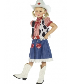 Costum carnaval copii cowgirl