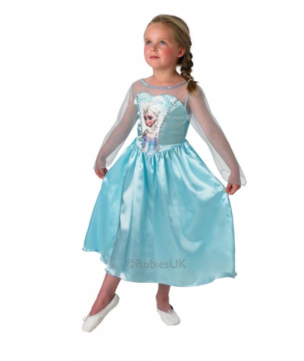 Costum carnaval Disney Elsa cu licenta