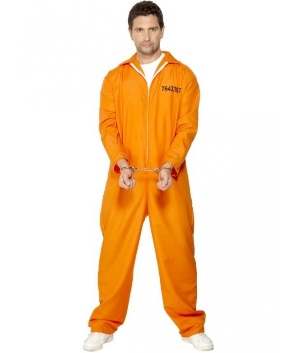 Costum carnaval adulti detinut - portocaliu