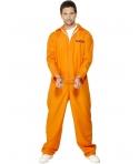 Costum carnaval barbati detinut portocaliu