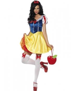 Costum carnaval femei Alba ca Zapada model 2