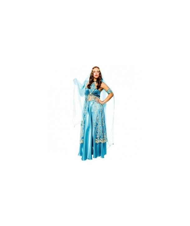 Costum carnaval femei Regina indianca