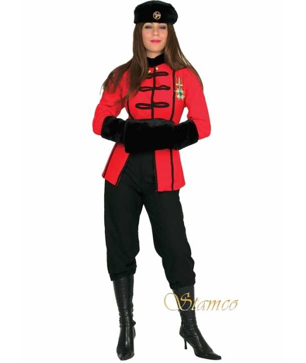 Costum carnaval femei rusoaica