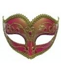 Masca carnaval roz