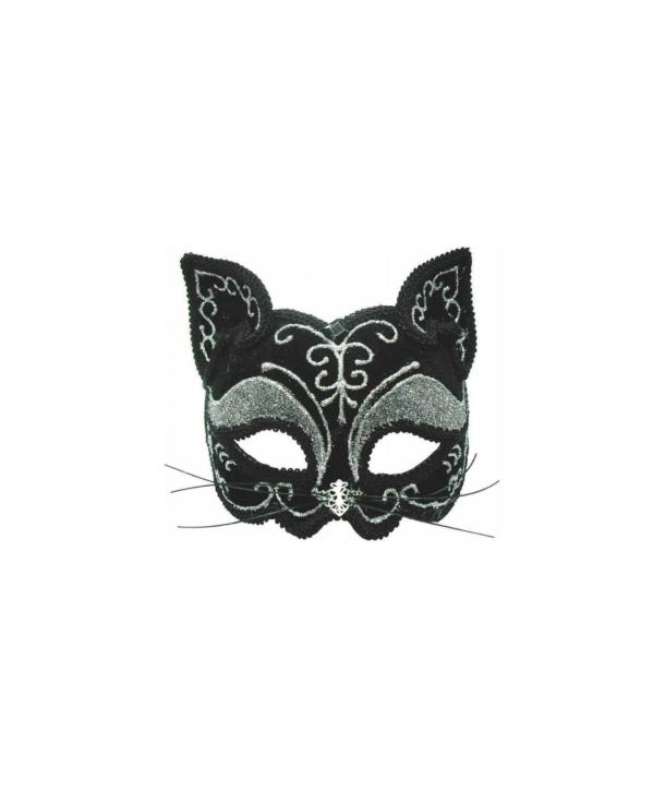 Masca carnaval pisica eleganta
