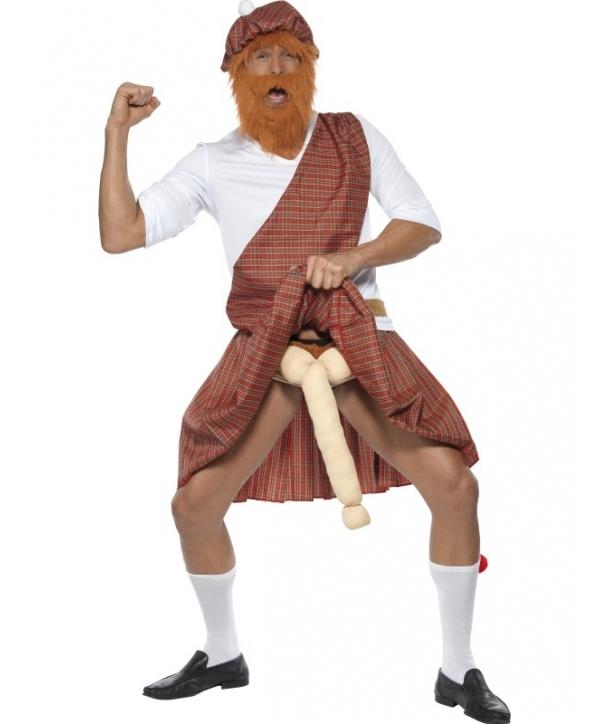 Costum carnaval barbati scotian haios