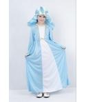 Costum Craciun fete Fecioara Maria albastra