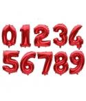 Baloane folie cifre